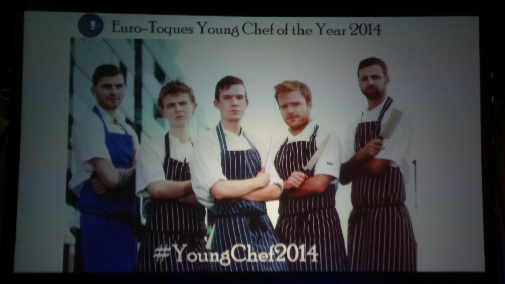 Matthew Logan from Chapter One is 2014 Young Chef Of The Year (1/6)